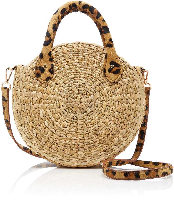 Poolside Le Circle Straw Bag