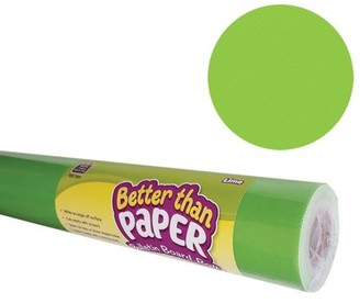 Teacher Created Resources Better Than Paper Bulletin Board Roll, 4' x 12', Lime, 4 Rolls