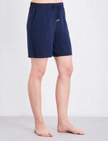 Hanro Hélà ̈ne woven pyjama shorts