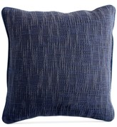 "Donna Karan DKNY PURE Space-Dyed 18"" Square Decorative Pillow"