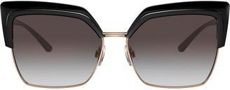 Dolce & Gabbana Eyewear Square-Frame Oversized Sunglasses