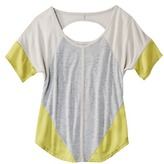 Mb Mossimo® Women's Short Sleeve Top w/ Open Back - Assorted Colors