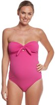 Pez D'or Pez Dor Maternity Rimini Solid Textured One Piece Swimsuit 8131929