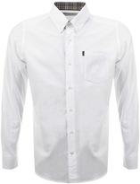 Barbour The Oxford Tailored Fit Shirt White
