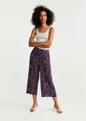 MANGO Culottes trousers ecru - XXS - Women
