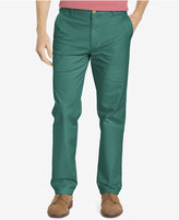 Izod Men's Straight Flat-Front Pants