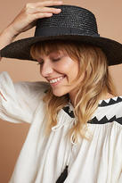 Anthropologie Eleanor Boater Hat