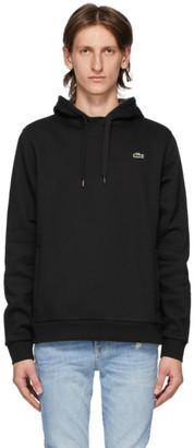 Lacoste Black Classic Logo Hoodie