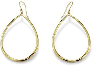 Ippolita 18kt Gold Large Teardrop Earrings
