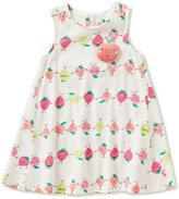 Joules Baby/Little Girls 12 Months-3T Eloise Strawberry Print Trapeze Dress