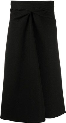 Lemaire Twisted Waist Skirt