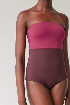 Cos PADDED SWIMSUIT WITH DETACHABLE STRAPS