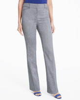 White House Black Market Beverly Linen Bootcut Suit Pants