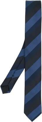 HUGO BOSS striped jacquard tie