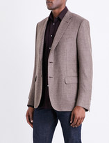 Brioni Twill-weave regular-fit wool jacket