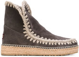 Mou eskimo boots - women - Chamois Leather/Leather/Foam Rubber - 38