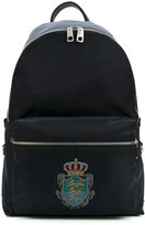 Dolce & Gabbana - 'Vulcano' backpack - men - Leather/Nylon - One Size