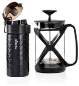 Primula Coffee Brew & Go Set - 12oz. Thermal Tumbler and 6 Cup Coffee Press, Created for Macy's