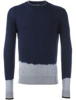 Lanvin Dip Dye effect jumper