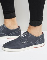 Dune Derby Shoes In Navy