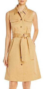 Lafayette 148 New York Sonny Belted Shirtdress
