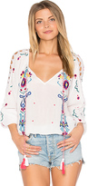 Parker Jenna Blouse in White. - size L (also in M)