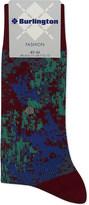 Burlington Abstract print cotton-blend socks