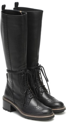 Chloé Franne leather knee-high boots