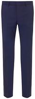 Hugo Boss Hugo New Wool Trousers, Mid Blue