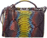 Mark Cross Grace Small Python Box Bag