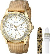 GUESS GUESS? Women's U13597L1 Analog Display Quartz White Watch