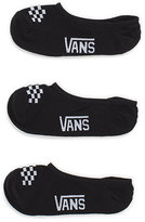 Vans Canoodle Super No Show Socks 3 Pair Pack