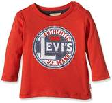 Levi's Boys' Ls-Tee-Stampy Polo Shirt,(Manufacturer Size:12 Months)