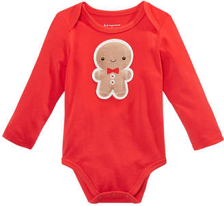 First Impressions Baby Boys Gingerbread Bodysuit