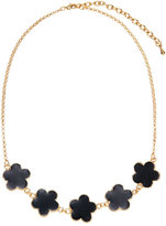 Jardin Black Clover Necklace