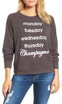 Junk Food Clothing Champagne Hacci Sweatshirt