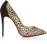 Christian Louboutin Follies Lace 100mm pumps