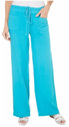 Margaritaville Women's Linen Button Front Short