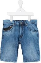 John Galliano Got Music Inside jean shorts - kids - Cotton - 8 yrs