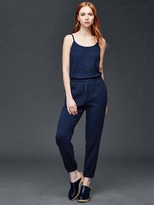 Gap Gauzy cotton jumpsuit