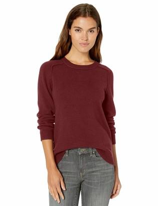 Daily Ritual Women's Wool Blend Crewneck Sweater