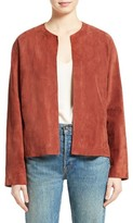Vince Women's Belted Suede Jacket