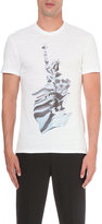 Neil Barrett Statue Of Liberty Cotton T-shirt