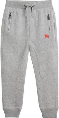 Burberry Drawcord Cotton Sweatpants