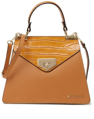 Persaman New York Esme Leather Top Handle Tote