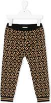 Gucci Kids skull knitted leggings