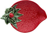 One Kings Lane Strawberry-Shape Olive Dish
