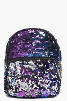 Boohoo Esme Ombre Sequin Backpack