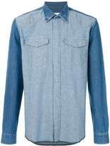 Maison Margiela tonal denim shirt