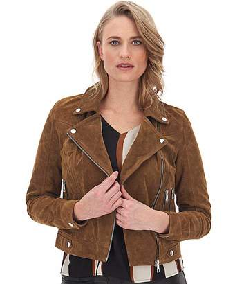 Vero Moda Brown Suede Jacket